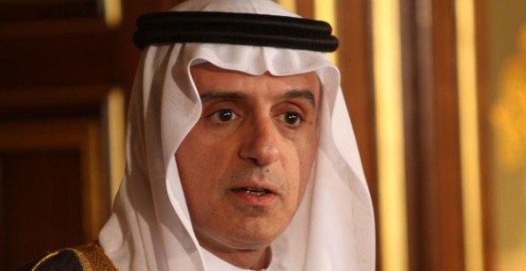 Ministro de Relaciones Exteriores saudita Adel al-Jubeir