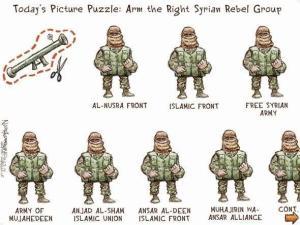 grupos rebeldes de medio oriente