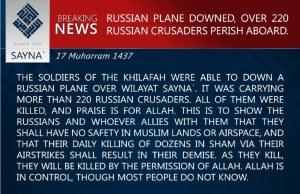 avion en caida ruso