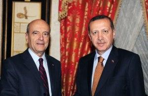 Alain Juppé y Racep Tayyip Erdogan