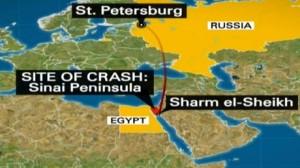 ruta de vuelo avion ruso