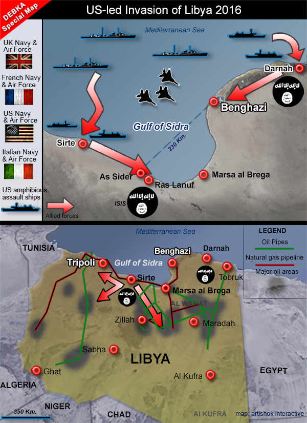 invasion en libia 1