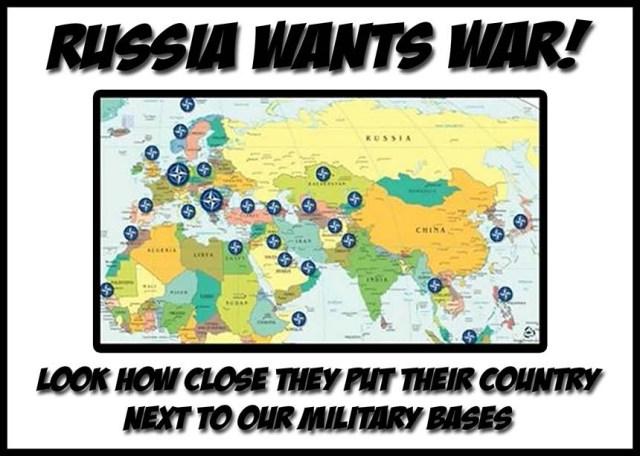 rusia quiere guerra