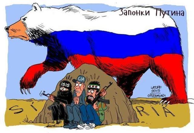 el oso ruso detras de isis