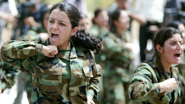 fuerzas especiales kurdas