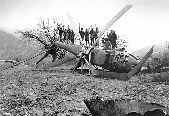 helicoptero ruso abatido
