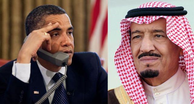 obama y el rey saudi