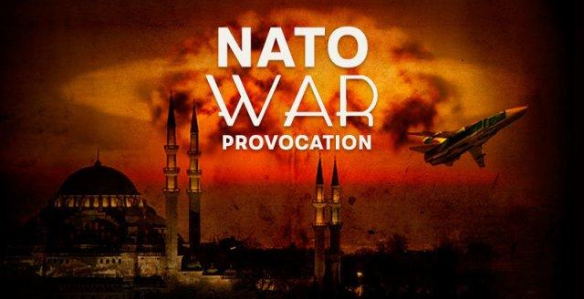provocacion de guerra de la otan