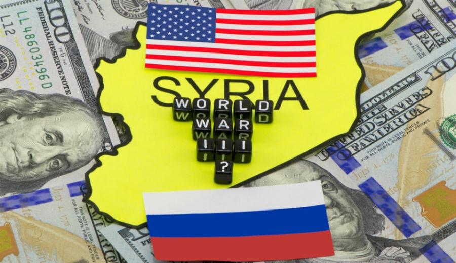 Resultado de imagen de Rusia y Estados Unidos,reúnen una fuerza naval nunca antes vista en costas siria